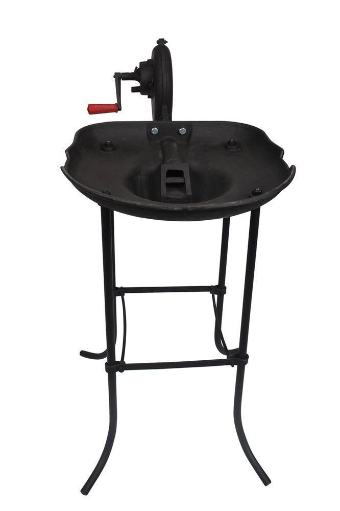 forge a charbon en fonte avec ventilateur