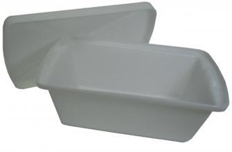 Bac alimentaire rotomoulé 36 litres avec couvercle