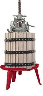 Pressoir hydraulique vis centrale 166 litres