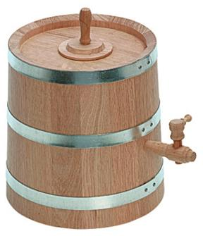 Vinaigrier chêne 6 litres
