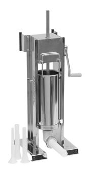 Poussoir à viande vertical/horizontal inox 10 litres Tom Press par Reber