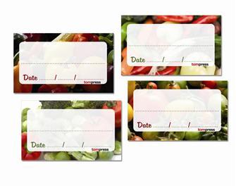 Etiquettes pour conserves de légumes par 84
