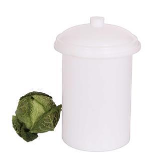 Pot à choucroute en plastique de 15 litres