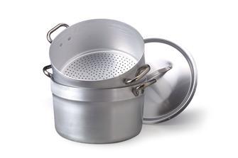 Couscoussier alu 40 cm pour cuisson vapeur