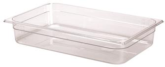 Bac gastro sans BPA GN 1/1 h. 10 cm en copolyester