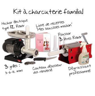 Kit matériel charcuterie familiale