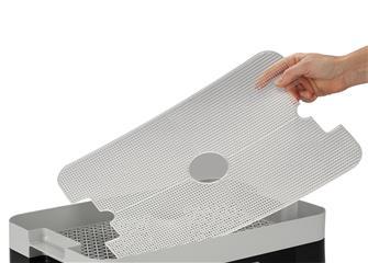 Grille ajourée pour déshydrateur rectangulaire