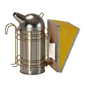 Enfumoir en acier chromé