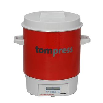 Stérilisateur émaillé électrique digital Tom Press pince à bocaux OFFERTE
