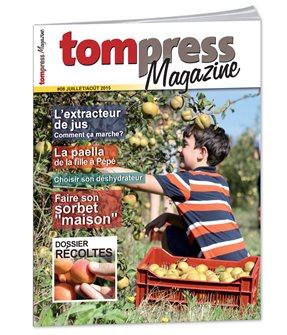 Tom Press Magazine juillet-août 2015