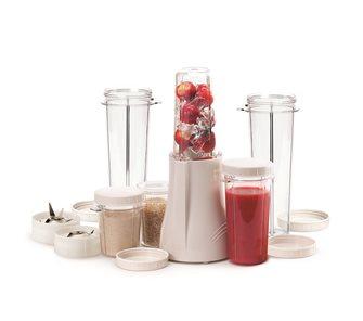 Mixer blender avec 2 gobelets 300 ml, 2 gobelets 150 ml, 2 gobelets 450 ml