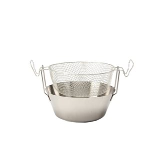 Friteuse 24 cm inox compatible induction