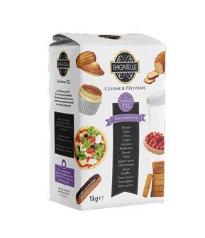 Farine de blé T55 cuisine et pâtisserie agriculture raisonnée 1 kg