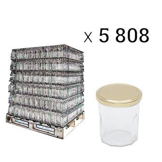 Palette pots confiture 200 g par 5808 pièces
