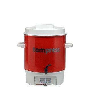 Stérilisateur émaillé digital avec robinet Tom Press