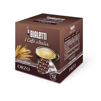 Boite de 12 capsules Bialetti Orge sans caféine