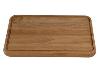 Planche à découper avec rigole 43x29 cm