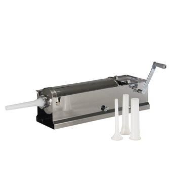 Poussoir à viande horizontal 6,5 litres inox Tom Press par Reber
