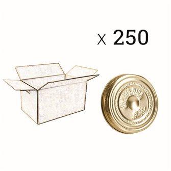 Couvercle Familia Wiss® 110 mm par carton de 250