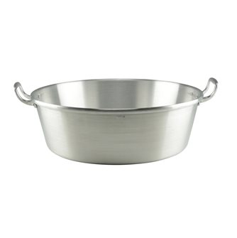 Bassine à gras et confiture aluminium Tom Press diamètre 50 cm