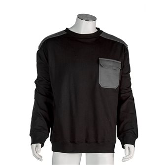 Sweat shirt homme noir Bartavel Austin M