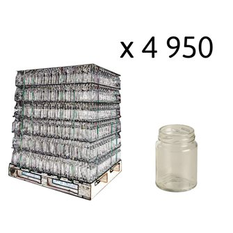 Cylindrical glass jar 106 ml per pallet 5940