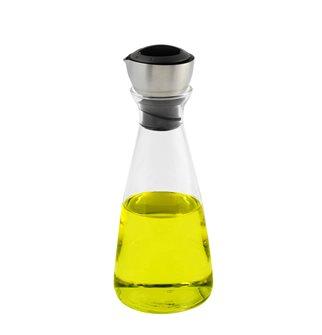 Huilier vinaigrier en verre 20 cm avec contrôle du débit