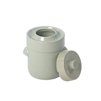 Pot à choucroute / lactofermentation 3 litres couleur vert d´eau