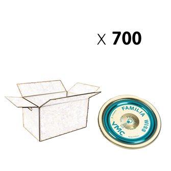 Capsule Familia Wiss® 100 mm par carton de 700
