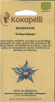 Graines de bourrache officinale AB