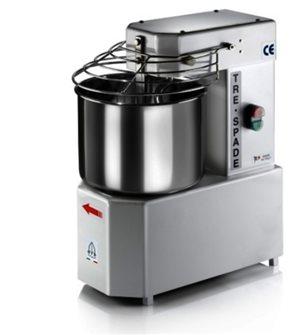 Pétrin de boulanger électrique avec cuve inox 10 litres
